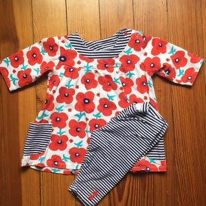 Other - Red and Navy Flower set